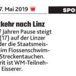 Berichte Mai 2019